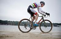 2015 CX World Champion Mathieu Van der Poel (NLD/BKCP-Powerplus)<br /> <br /> Elite Men's Race<br /> Krawatencross<br /> bpost bank trofee