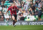 Celtic v St Johnstone...21.09.13      SPFL<br /> Chris Millar's shot is saved by Fraser Forster<br /> Picture by Graeme Hart.<br /> Copyright Perthshire Picture Agency<br /> Tel: 01738 623350  Mobile: 07990 594431