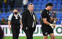 2nd October 2021, Cbus Super Stadium, Gold Coast, Queensland, Australia;   All Blacks coach Ian Foster. New Zealand All Blacks versus South Africa Springboks. The Rugby Championship. Rugby Union test match.