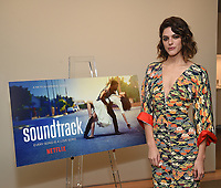 "BEVERLY HILLS - DECEMBER 4: Callie Hernandez attends a special screening of the new Netflix musical series ""Soundtrack"" at UTA on December 4, 2019 in Beverly Hills, California. Soundtrack premieres on Netflix on December 18. (Photo by Frank Micelotta/20th Century Fox Television/PictureGroup)"