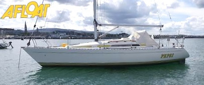 The newly-launched Sigma 33 Pepsi lies serenely to her moorings in Dun Laoghaire. Designed by David Thomas, the Sigma 33 really does meet all the key demands of an effective cruiser-race, and yet does so in a very manageable size