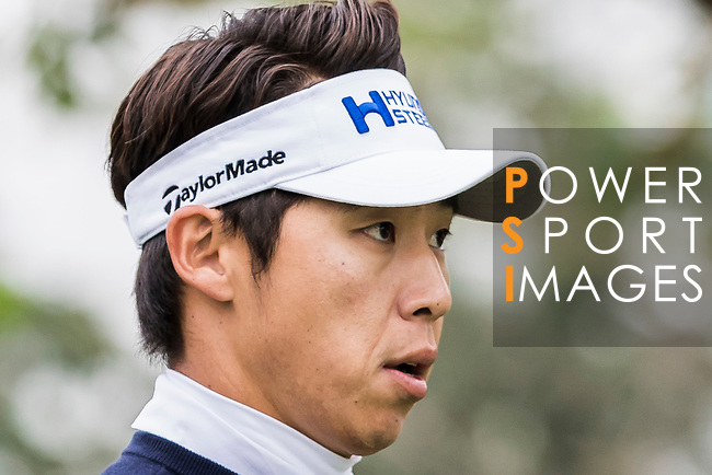 Jinho Choi of South Korea reacts during the day three of UBS Hong Kong Open 2017 at the Hong Kong Golf Club on 25 November 2017, in Hong Kong, Hong Kong. Photo by Yu Chun Christopher Wong / Power Sport Images