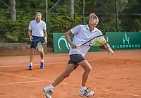 Etten-Leur, The Netherlands, August 27, 2017,  TC Etten, NVK, Men's doubles: Rolf Thung (L) and Martin Koek<br /> Photo: Tennisimages/Henk Koster