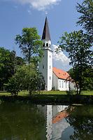 Evangelische Kirche in Sigulda, Lettland, Europa