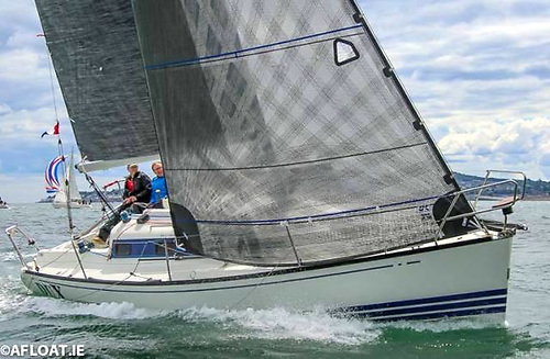 Anthony Gore-Grimes' Dux from Howth Yacht Club emerged overall winner of the Irish Cruiser Racing Association (ICRA) National Championships Photo:Afloat