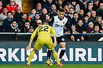 Andreas Pereira of Valencia CF (R) fights for the ball with Antonio Rukavina of Villarreal CF (L) during the La Liga 2017-18 match between Valencia CF and Villarreal CF at Estadio de Mestalla on 23 December 2017 in Valencia, Spain. Photo by Maria Jose Segovia Carmona / Power Sport Images