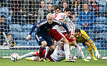 No joy for Steven Naismith in front of goal