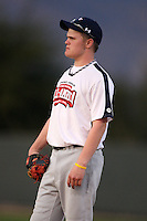 January 16, 2010:  Joseph (Joe) McElwain (Reedsville, PA) of the Baseball Factory Atlantic Team during the 2010 Under Armour Pre-Season All-America Tournament at Kino Sports Complex in Tucson, AZ.  Photo By Mike Janes/Four Seam Images
