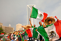 Fans packed the stands of Bank of America Stadium for the CONCACAF Gold Cup soccer tournament in June 2011. The event  determines the regional champion of North America, Central America and the Caribbean.