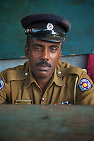 Policeman in Colombo,Sri Lanka