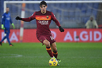 Gonzalo Villar of AS Roma in action during the Serie A football match between AS Roma and UC Sampdoria at Olimpico stadium in Roma (Italy), January 3rd, 2021. Photo Andrea Staccioli / Insidefoto