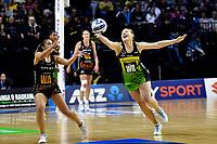 Paris Lokotui of the Pulse during the ANZ Premiership Netball - Pulse v Magic at TSB Bank Arena, Wellington, New Zealand on Sunday 30 May 2021.<br /> Photo by Masanori Udagawa. <br /> www.photowellington.photoshelter.com