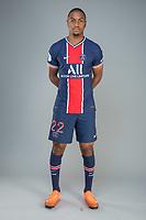 14th October 2020, Paris, France; Official League 1 player portrait for Paris Saint Germain;  DIALLO Abdou