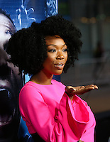 """LOS ANGELES, CA, USA - APRIL 16: Brandy Norwood at the Los Angeles Premiere Of Open Road Films' """"A Haunted House 2"""" held at Regal Cinemas L.A. Live on April 16, 2014 in Los Angeles, California, United States. (Photo by Xavier Collin/Celebrity Monitor)"""