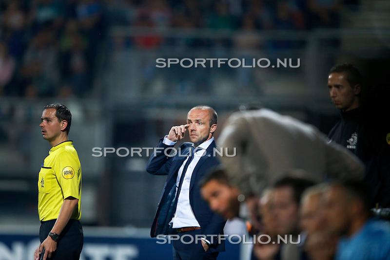 Nederland, Almelo, 29 augustus 2015<br /> Eredivisie<br /> Seizoen 2015-2016<br /> Heracles Almelo-FC Twente<br /> Alfred Schreuder, trainer-coach van FC Twente