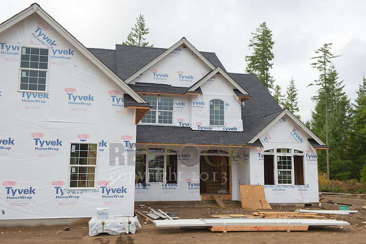 Construction on a new home