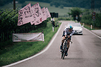 Salvatore Puccio (ITA/SKY)<br /> <br /> stage 16: Trento – Rovereto iTT (34.2 km)<br /> 101th Giro d'Italia 2018