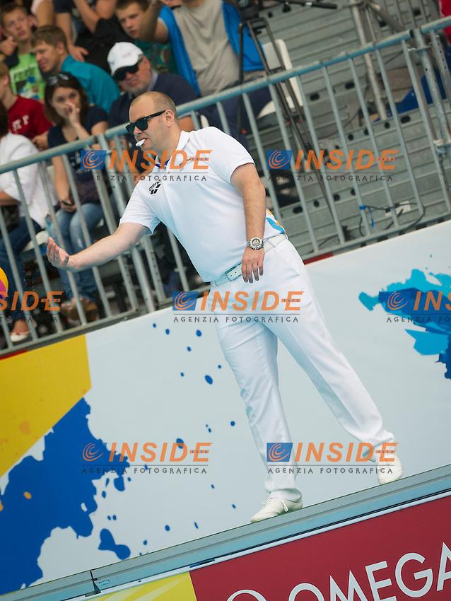 CHN-RUS<br /> China - Russia<br /> Referee<br /> Day 10 02/08/2015<br /> XVI FINA World Championships Aquatics<br /> Waterpolo<br /> Kazan Tatarstan RUS July 24 - Aug. 9 2015 <br /> Photo Pasquale Mesiano/Deepbluemedia/Insidefoto