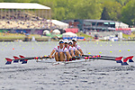 Rowing, United States Men's lightweight quadruple sculls, Brian Tryon, Peter Morelli, Todd Mickelson, Matthew Carey, stroke, heat race, November 2, 2010 FISA World Rowing Championships, Lake Karapiro, Hamilton, New Zealand,