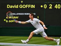 England, London, 23.06.2014. Tennis, Wimbledon, Andy Murray (GBR)<br /> Photo:Tennisimages/Henk Koster