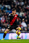 Alexandre Moreno Lopera, Alex Moreno, of Rayo Vallecano in action during the La Liga 2018-19 match between Real Madrid and Rayo Vallencano at Estadio Santiago Bernabeu on December 15 2018 in Madrid, Spain. Photo by Diego Souto / Power Sport Images