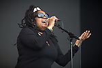 © Joel Goodman - 07973 332324 . 11/06/2016 . Manchester , UK . Soul II Soul on the main stage at the Parklife music festival at Heaton Park in Manchester . Photo credit : Joel Goodman