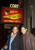 12-17-11 Stick Fly - Ruben Santiago-Hudson (AW), Dule HIll (AMC), Tracie Thoms - Mekhi Phifer