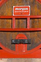 Fermentation tanks. Domaine Gravallon Lathuiliere, Morgon, Beaujolais, France