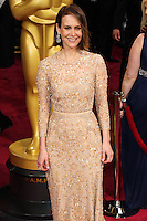 HOLLYWOOD, LOS ANGELES, CA, USA - MARCH 02: Sarah Paulson at the 86th Annual Academy Awards held at Dolby Theatre on March 2, 2014 in Hollywood, Los Angeles, California, United States. (Photo by Xavier Collin/Celebrity Monitor)
