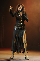 HOLLYWOOD, FL - FEBRUARY 25 : Bonnie Pointer   performs at Hard Rock live held at the Seminole Hard Rock hotel and casino on February 25, 2010 in Hollywood Florida<br /> <br /> <br /> People:  Bonnie Pointer