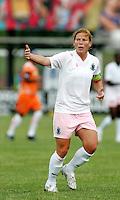 Lori Chalupny..Saint Louis Athletica defeated Sky Blue FC 1-0 at Anheuser-Busch Soccer Park, Fenton, Missouri.