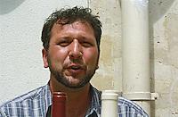 Jean-Marie Rimbert of Domaine Rimbert, Saint-Chinian, Coteaux du Languedoc, Languedoc-Roussillon, France