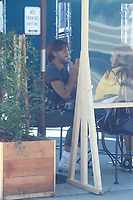 Cameron Dallas Has Lunch With A Female Friend In Hollywood