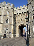 King Henry VIII Gate of Windsor Castle in the English county of Berkshire.