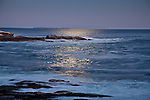 Moonlight at Pemaquid Point, Bristol, ME, USA