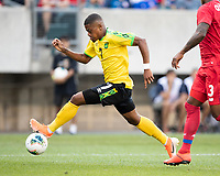PHILADELPHIA, PA - JUNE 30: Leon Bailey #7 during a game between Panama and Jamaica at Lincoln Financial Field on June 30, 2019 in Philadelphia, Pennsylvania.