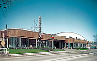 Bryner Chevrolet Exterior of the Showroom from 1959. PA