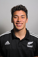 Thomas Umaga-Jensen. The 2015 New Zealand Schools rugby union team headshots at NZ Sports Institute, Palmerston North, New Zealand on Friday, 18 September 2015. Photo: Dave Lintott / lintottphoto.co.nz