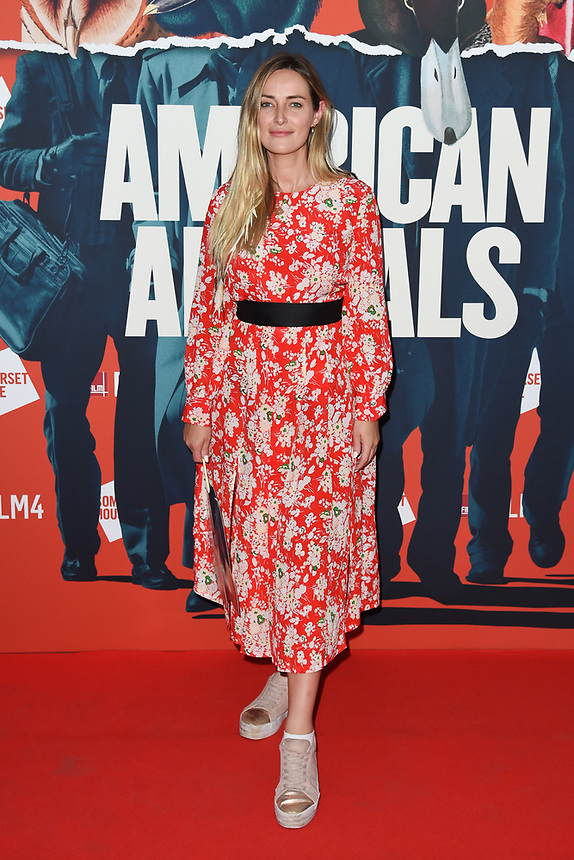"""Fran Newman Young<br /> arriving for the premiere of """"American Animals"""" screening at Somerset House, London<br /> <br /> ©Ash Knotek  D3425  22/08/2018"""
