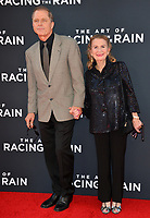 "LOS ANGELES, USA. August 02, 2019: Maxwell Caulfield & Juliet Mills at the premiere of ""The Art of Racing in the Rain"" at the El Capitan Theatre.<br /> Picture: Paul Smith/Featureflash"