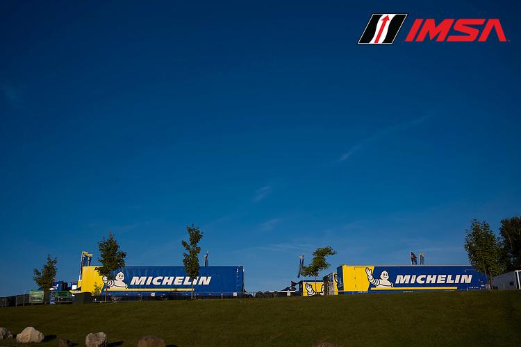 Michelin tire compound area mounting facility