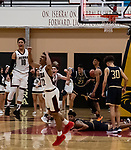 JSerra High School basketball, sports, action, athletes, crowds
