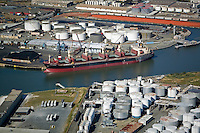 aerial photograph Port of Richmond, California