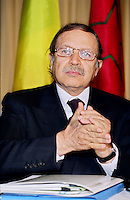 Montreal (Qc) CANADA - May 15 2000 File Photo<br /> <br /> Abdelaziz  Bouteflika, President of Algeria.<br /> He was elected in 1999 and in 2004