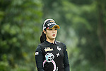 Ji Hyun Oh of South Korea tees off at the 4th hole during Round 2 of the World Ladies Championship 2016 on 11 March 2016 at Mission Hills Olazabal Golf Course in Dongguan, China. Photo by Victor Fraile / Power Sport Images