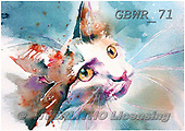 Simon, REALISTIC ANIMALS, REALISTISCHE TIERE, ANIMALES REALISTICOS, paintings+++++LizC_TheLookOfLove,GBWR71,#a#, EVERYDAY