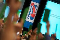 Gruendungsparteitag der Anti-Europartei Alternative fuer Deutschland am Sonntag den 14. April 2013 im Berliner Hotel Interconti.<br />14.4.2013, Berlin<br />Copyright: Christian-Ditsch.de<br />[Inhaltsveraendernde Manipulation des Fotos nur nach ausdruecklicher Genehmigung des Fotografen. Vereinbarungen ueber Abtretung von Persoenlichkeitsrechten/Model Release der abgebildeten Person/Personen liegen nicht vor. NO MODEL RELEASE! Don't publish without copyright Christian-Ditsch.de, Veroeffentlichung nur mit Fotografennennung, sowie gegen Honorar, MwSt. und Beleg. Konto:, I N G - D i B a, IBAN DE58500105175400192269, BIC INGDDEFFXXX, Kontakt: post@christian-ditsch.de<br />Urhebervermerk wird gemaess Paragraph 13 UHG verlangt.]