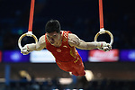2017 WORLD CUP OF GYMNASTICS. The O2 Arena.Saturday, April 8, 2017. Mens Competition .Jianlin LUO (CHN)