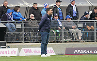 Trainer Dimitrios Grammozis (SV Darmstadt 98) - 29.02.2020: SV Darmstadt 98 vs. 1. FC Heidenheim, Stadion am Boellenfalltor, 24. Spieltag 2. Bundesliga<br /> <br /> DISCLAIMER: <br /> DFL regulations prohibit any use of photographs as image sequences and/or quasi-video.
