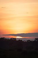 Sunset, Lekoli River.